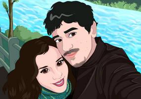 Pablo y Giselle