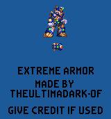 Mega Man X Giga Mission - Extreme Armor