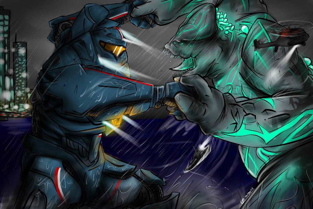 Colossal Titan Vs Gipsy Danger | www.pixshark.com - Images ...