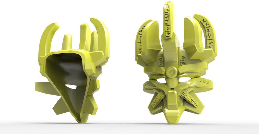 Bionicle 2015 - Mask of Creation Render by Sanek94ccol