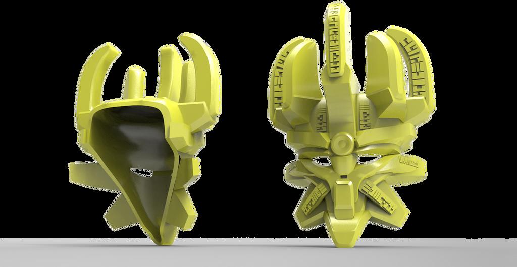 Bionicle 2015 - Mask of Creation Render by Sanek94ccol