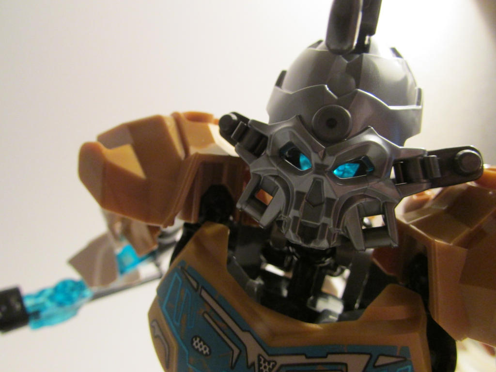 Bionicle 2015 - Kopaka with Skull Spider Mask by Sanek94ccol