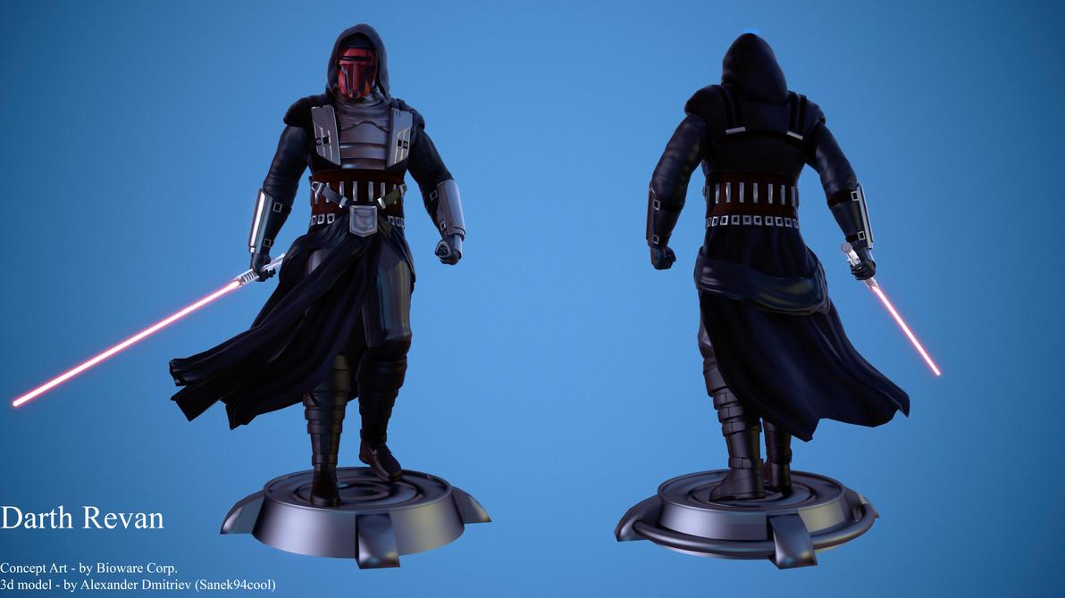 Darth Revan (Star Wars: The Old Republic Timeline) by Sanek94ccol