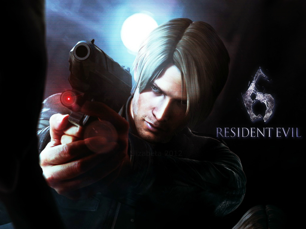Resident Evil 6 Wallpaper Leon By Betka On Deviantart