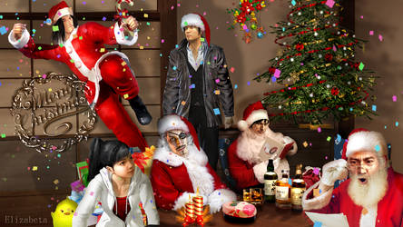 Merry Christmas from our Yakuza friends :) by Betka