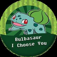 Bulbasaur, I choose you