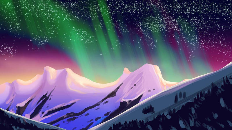 Northern Lights by maxtrix2000