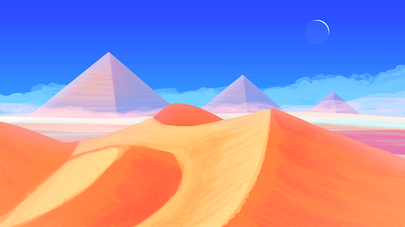 Desert Background. by maxtrix2000
