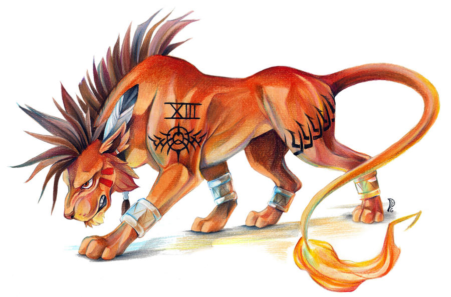 Red XIII by EchoGreens on DeviantArt