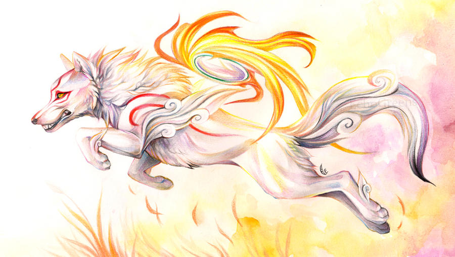Amaterasu by EchoGreens