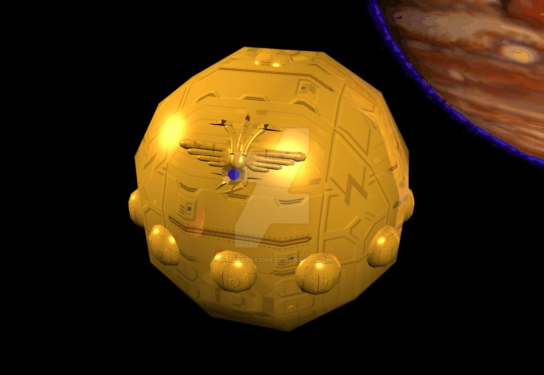 Utu class battle planetoid by Glitterboy2098