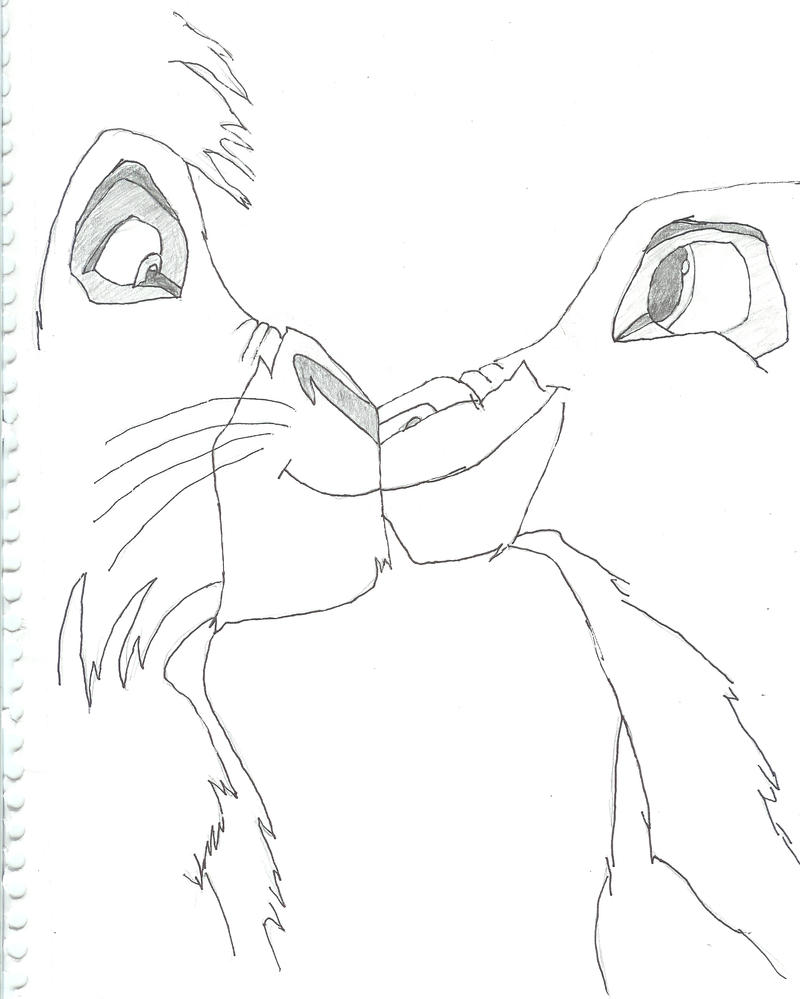 The Lion King Kiara Pencil Coloring