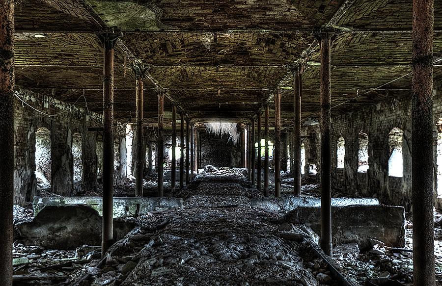 hallway by Driici