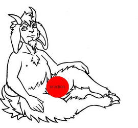 satyr tattoo by the-taxidermy