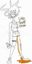 little jimmy urine by the-taxidermy
