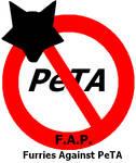 Furries Against PeTA logo