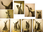 Florence and the Machine Sculpture - Hands by betsyillustration