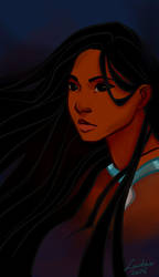 Pocahontas Pretty Hair