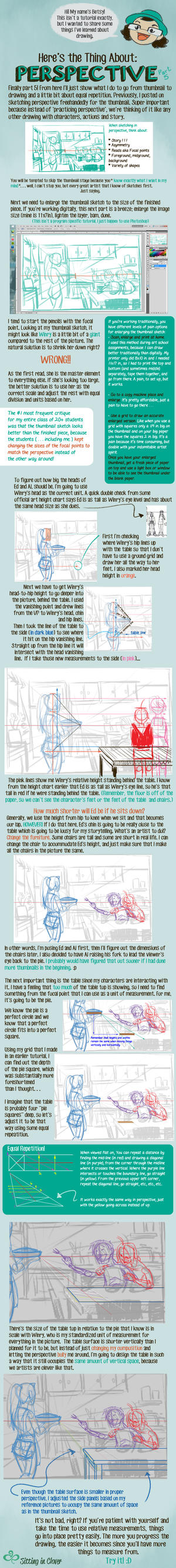 05 Here's the Thing About 1pt Perspective by betsyillustration