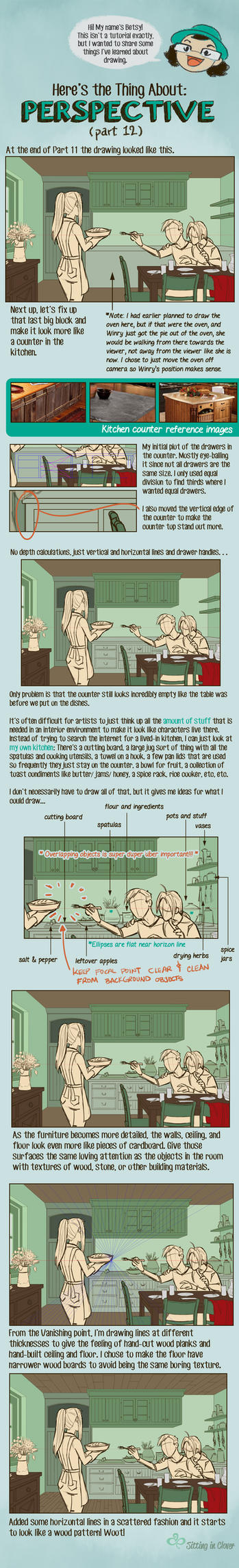 12 Here's the Thing About Perspective by betsyillustration