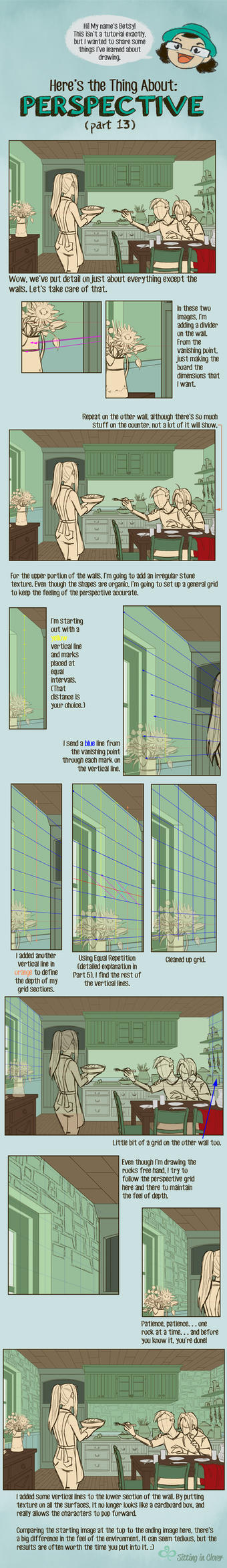 13 Here's the Thing About Perspective by betsyillustration