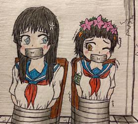 Saten and Uiharu kidnapped