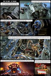 Roby The Robot Kit Trashing Comic