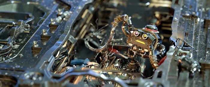 Roby the robot - Anger