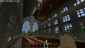 Minecraft Castle by AdarkTheCoder