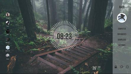 Current Desktop by razrxgt