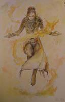 Sorcerer - Asmodian by Ayane45