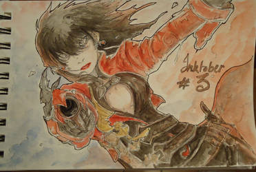 Inktober #3 by Ayane45