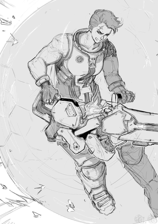 Zarya - Overwatch by Ayane45