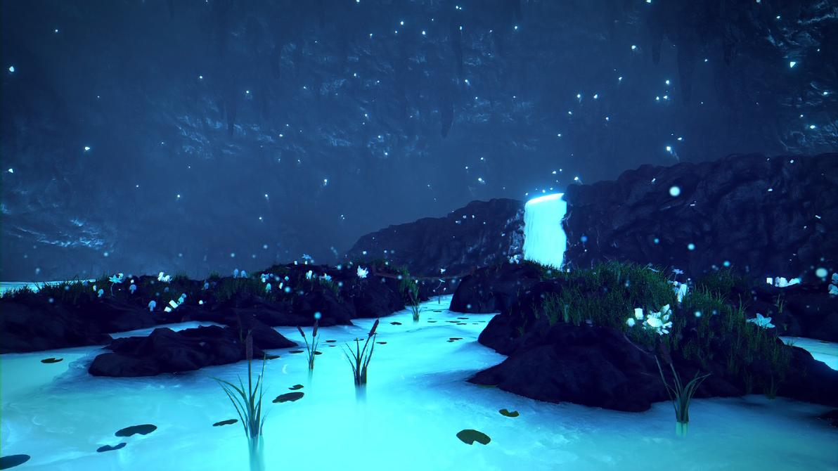 [Undertale] Waterfall by Latyprod on DeviantArt