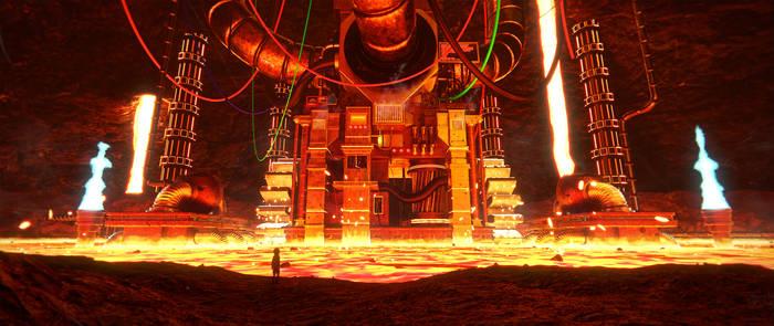 [Undertale] Hotland 3D by Latyprod