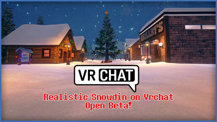 [UNDERTALE] Snowdin on Vrchat! (Link world) by Latyprod