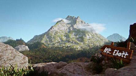 [Undertale] Mt. Ebott 3D
