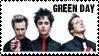 Green Day Stamp