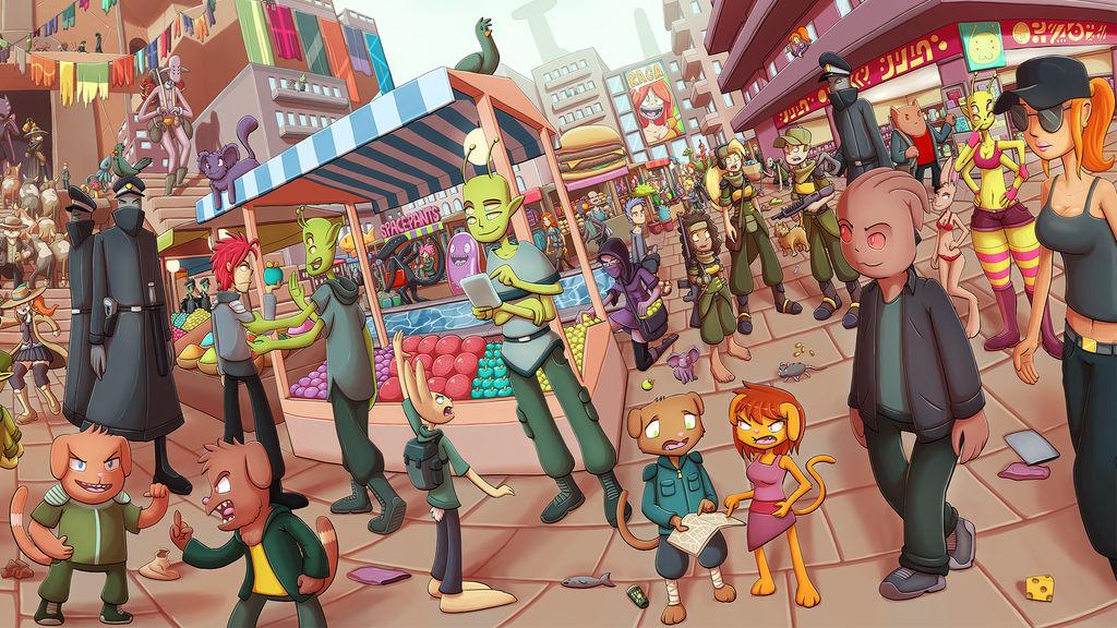 Market Bg by Ragadabah