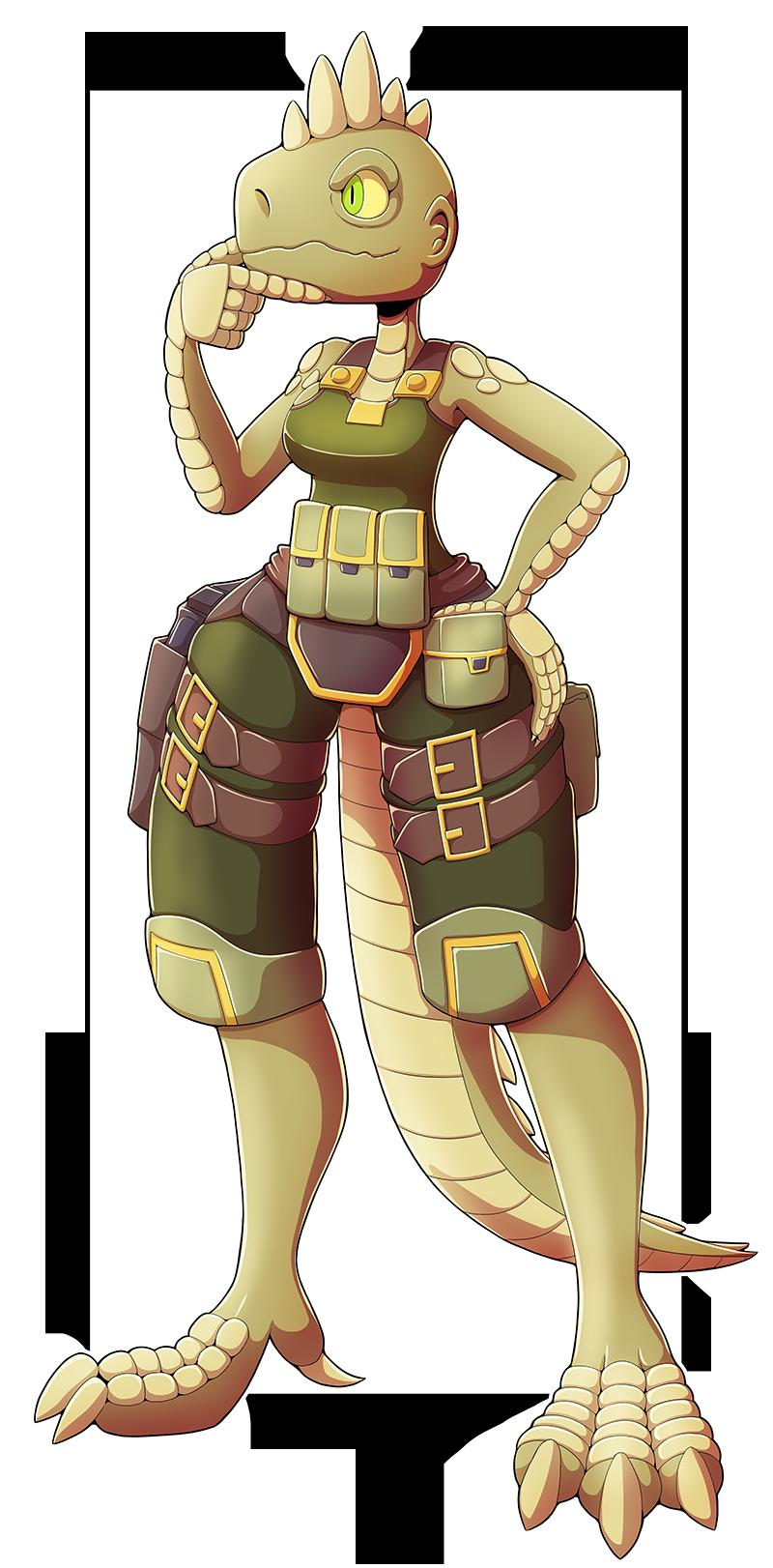 Ansley Lizard by Ragadabah