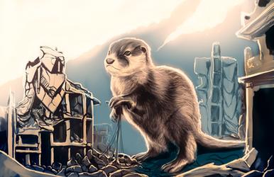 Otterly Destructive by Ragadabah