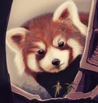 Red Pandamonium by Ragadabah