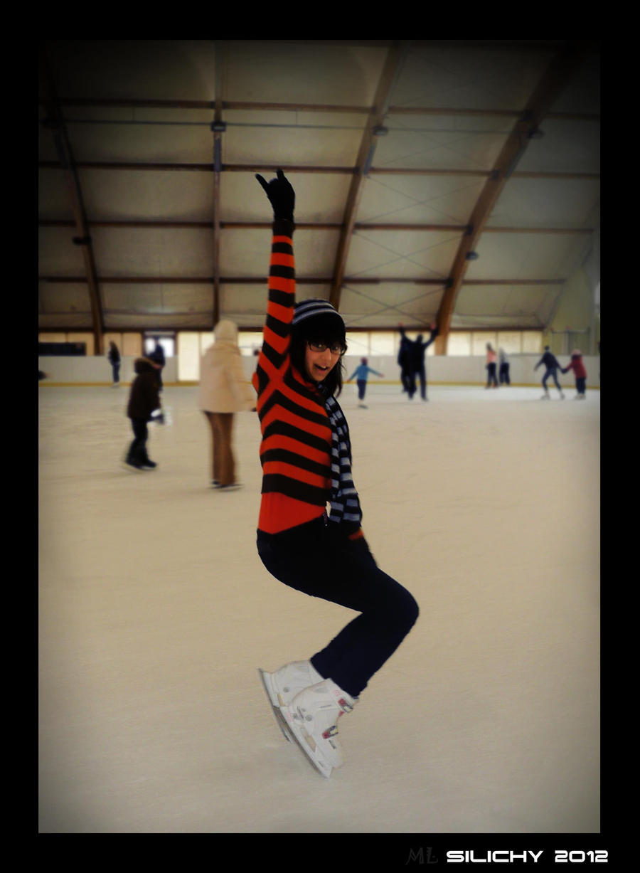 Krueger on the ice lol xD by MashkaLord