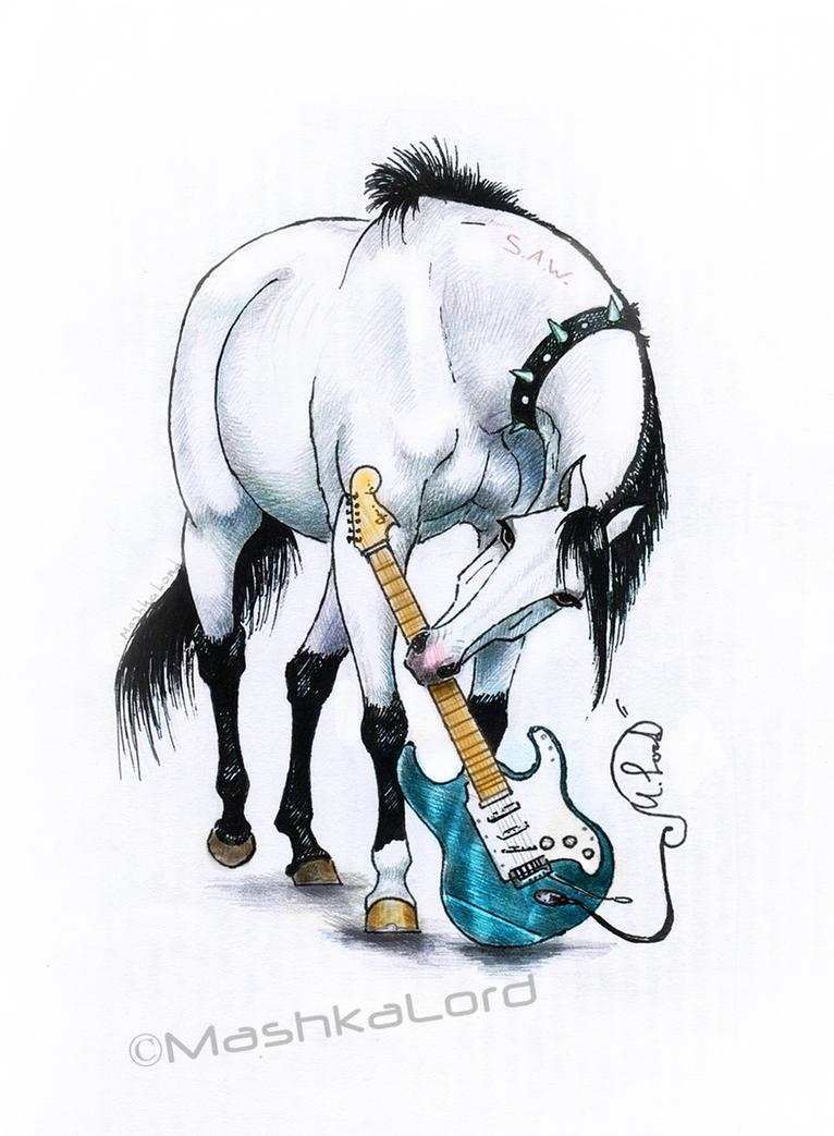 Metalhorse by MashkaLord