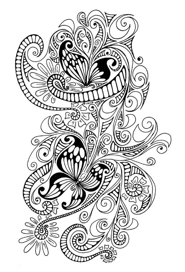 Time of butterflies tattoo