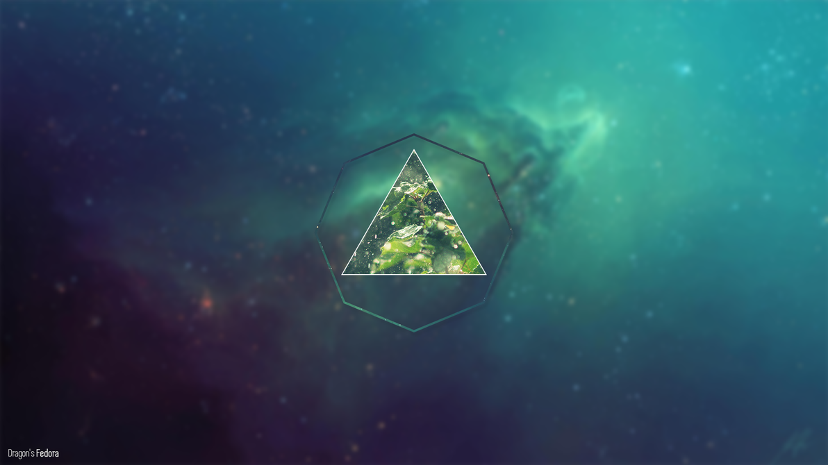 'Lost' Polyscape Wallpaper by TechDragonSoft