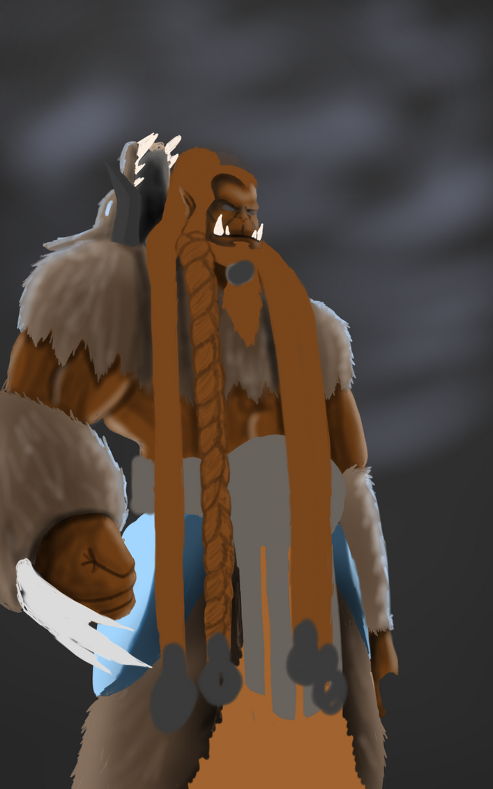 Brok WIP Colored by CWulffe89