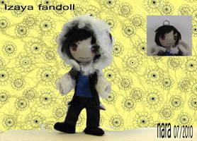 Izaya Fan Doll by prettyism