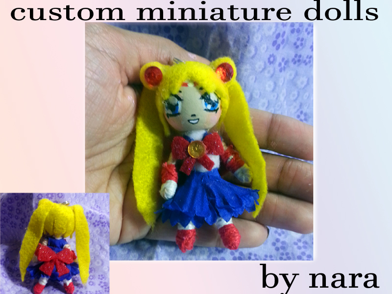 Sailor Moon Flower Doll by prettyism