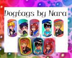 Free Iwatobi Swim Club dog tags